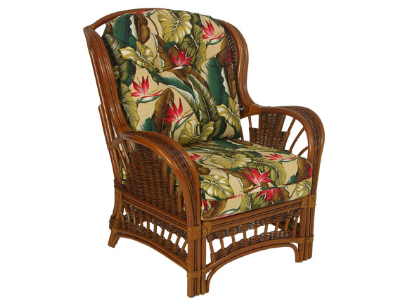 Palm Springs Bali High Back Chair - Wicker Imports Online