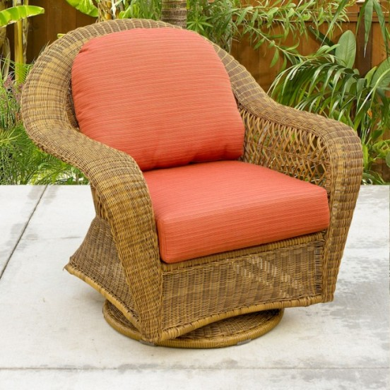 Port Royal and Charleston Swivel Glider Replacement Cushions