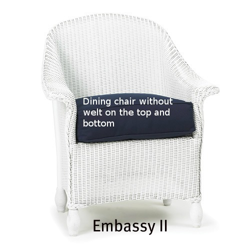 Embassy II  Dining Chair Replacement Cushion