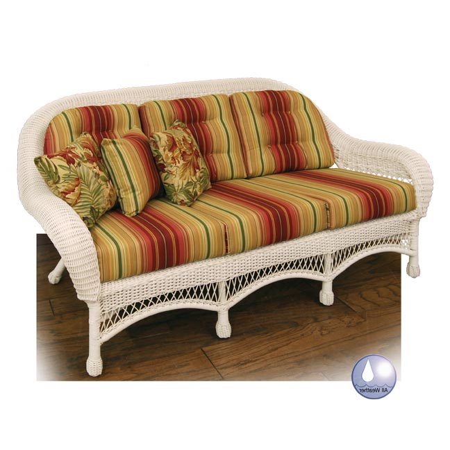 Empire Sofa Replacement Cushions Wicker Imports Online   Replacement  Cushions For Rattan Sofa