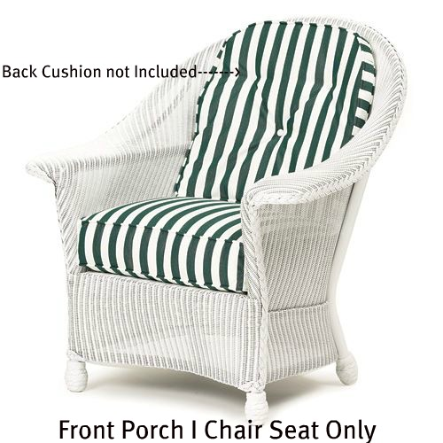 Front Porch I Chair Seat Replacement Cushion