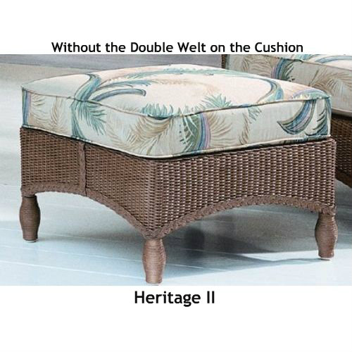Heritage II Ottoman Replacement Cushion