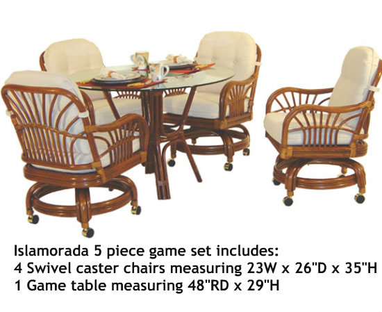 Islamorada 5 Piece Swivel Dining Set