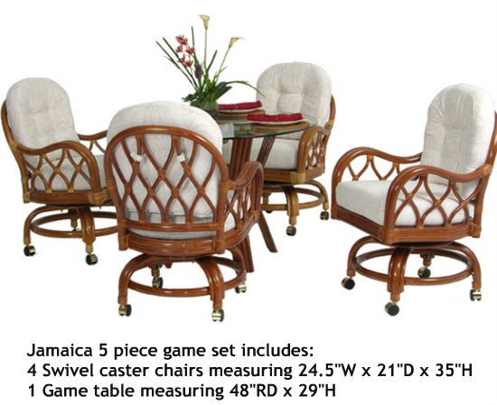 Palm Springs Jamaica 5 Piece Dining Set