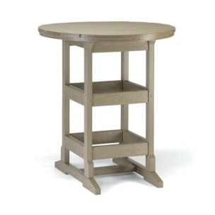 "36"" Round Bar Height Table"