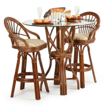 Islamorada 3 Piece Bar Height Pub Set