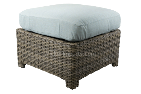 Bainbridge and Cabo Square Ottoman Replacement Cushion