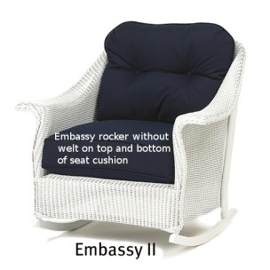 Embassy II Rocker Replacement Cushion