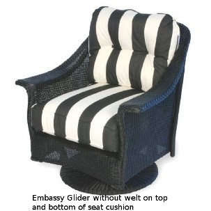 Embassy II Swivel Glider Replacement Cushion