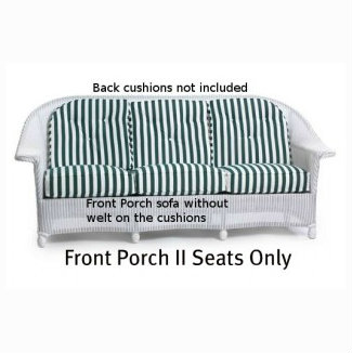 Front Porch II Sofa Seat Replacement Cushion