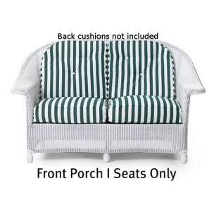 Front Porch I Loveseat Seat Replacement Cushions