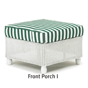 Front Porch I Ottoman Replacement Cushion