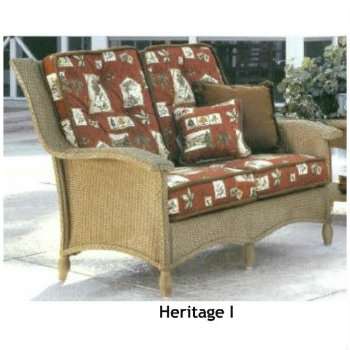 Heritage I Loveseat Replacement Cushions