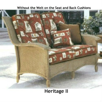 Heritage II Loveseat Replacement Cushion