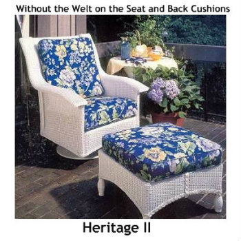 Heritage II Swivel Rocker Replacement Cushion