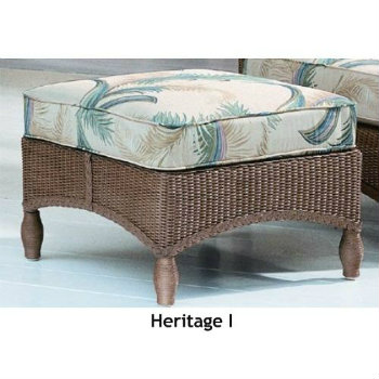 Heritage I Ottoman Replacement Cushion
