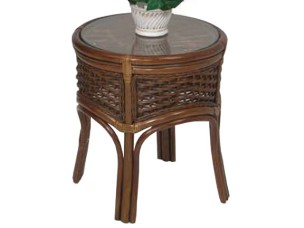 Palm Springs Islamorada Round End Table