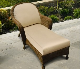 Montclair and Monaco Stationary Chaise Lounge Replacement Cushions