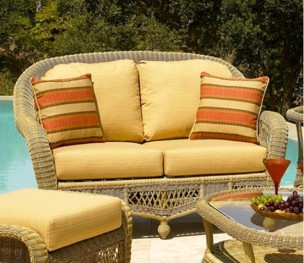Montego and St. Lucia Loveseat Replacement Cushions