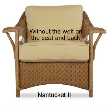 Nantucket II Chair Replacement Cushion