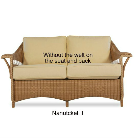 Nantucket II Loveseat Replacement Cushions