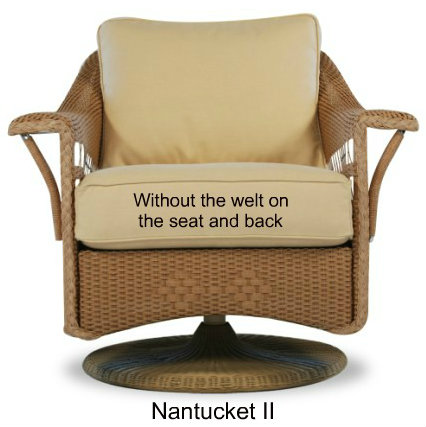Nantucket II Glider Replacement Cushions