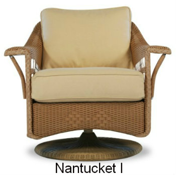 Nantucket I Glider Replacement Cushions