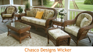 Chasco Designs resin wicker